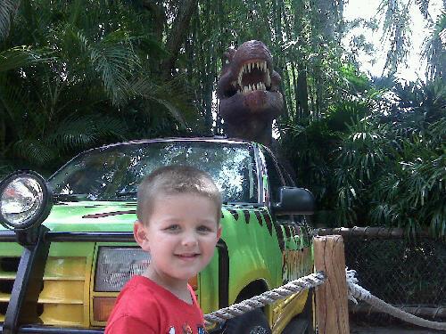 Ridley in Jurassic Park